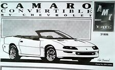 Amt '93 Camaro Convertible Kit - No Box