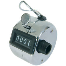 2 Viper Hand Tally Counters in Chrome 4digit