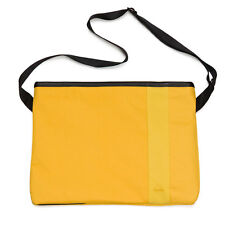 Rapha Yellow Printed Musette Bag. NEW.