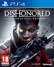 Dishonored La Morte Dell'Esterno PS4 Playstation 4 IT IMPORT BETHESDA