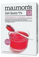 Maimon's Strawberry Flavored  Gelatin Dessert Powder Kosher Israeli Product 85g