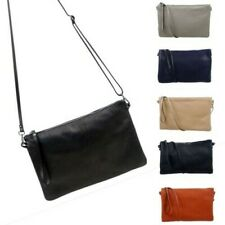 Kalivalson Leather Large Clutch Pouch Cross Body Bag