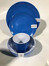 Serroni Melamine 16 Piece Cornflower Blue Dinner Set RRP $137.40