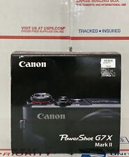 Canon PowerShot G7X Mark II 20.1MP Black -TT0813 *Open Box* Free Shipping!!