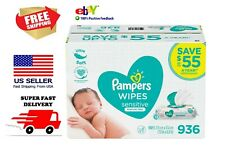 Pampers Sensitive Baby Wipes (936 ct.) Super Fast Shipping!