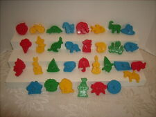 Wilton MUPPETS Sesame Street &  Alphabet Cookie Cutters Complete Set  1977 Mini