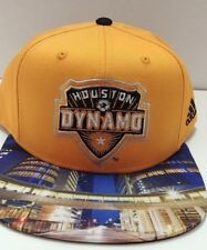 Houston Dynamo MLS adidas Authentic Team Structured Adjustable 2D City Hat