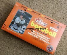 2020 Topps Heritage Minor League Baseball Hobby Box Priority Mail Shipping!