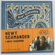 Fantastic Beasts and Where To Find Them Newt Scamander Movie Scrapbook New