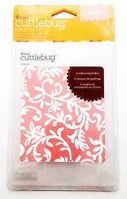 Cricut Cuttlebug A2 Embossing Folder 4 x 5.25 in. Victoria 371916 - New