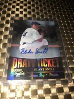 2011 Contenders Draft Ticket Blake Snell Autograph Rookie Card! Rays RC AUTO!!!