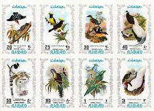 Ajman 1971 Beautiful Imperf Stamps Birds