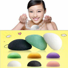 Natural Konjac Konnyaku Facial Puff Face Cleanse Washing Sponge Exfoliator G4