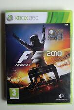 Formula 1 F1 2010 XBOX 360 nuovo sigillato versione Italiana Codemasters