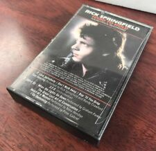 Rick Springfield Hard To Hold Movie Soundtrack Cassette Tape 1984 Peter Gabriel