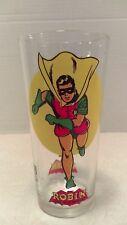Vintage 1976 DC Robin Boy Wonder Pepsi Glass Mint No Photo Wear Batman & Robin