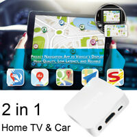 Car Wireless WiFi Display Mirror Link Adapter DLNA Airplay RCA iOS Android to TV