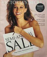GISELE BUNDCHEN  Spring 2002 VICTORIA'S SECRET Lingerie Catalog