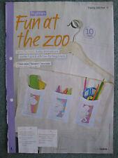 Jane Prutton Zoo Animals lion, giraffe pattern, Cross stitch magazine chart only