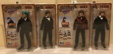 The Monkees; TUXEDO Outfit; SET OF 4;  8 INCH ACTION FIGURE Mego Style FTC RIP