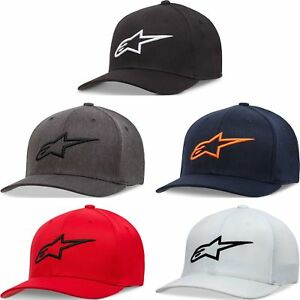 Alpinestars Kid's Ageless Curve Bill Flex Hat -  Youth Lid Cap