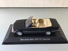 MERCEDES-Benz Classic 300 CE Cabriolet Blu Nero Met. 1:43 - MODELLO DA COLLEZIONE