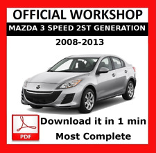 service repair manuals for mazda 3 for sale ebay rh ebay com repair manual mazda 2008 mx-5 front seat repair manual mazda cx-9 2008