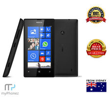 BRAND NEW NOKIA LUMIA 520 WINDOWS SMARTPHONE BLACK 5MP 4GB LOCKED TO TELSTRA