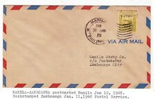 OLD  PHILIPPINES FLIGHT COVER- 16
