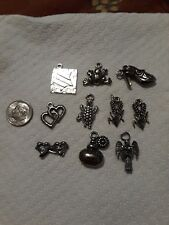 Lot of 10 New Charms