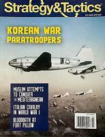 KOREAN WAR PARATROOPERS Mar 2020 STRATEGY & TACTICS Magazine WWI ITALIAN CAVALRY
