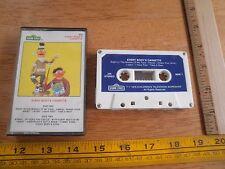 Every Body's Sesame Street 1982 cassette tape HTF Bert Ernie