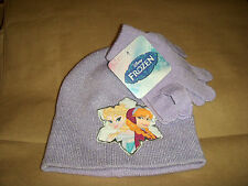 Disney FROZEN Girls Hat and Gloves Set New FREE SHIPPING