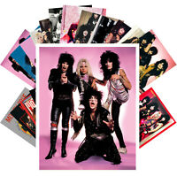 Postcards Pack [24 cards] Motley Crue Rock Music Posters Vintage CC1228