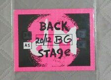 depeche mode pass original nylon backstage nylon devotional tour 1993