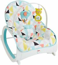 Fisher Price Infant-to-Toddler Rocker, Geo Triangles, NEW