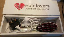 Hair Lovers Hair LCD Display Ceramic Heated Straightening Brush