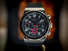 Luxusuhr Naccari Velocita Silver/Black - 42mm - NP 299,- €