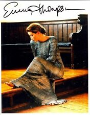 EMMA THOMPSON AUTOGRAPHED SIGNED 8X10 PHOTO HOWARDS END OSCAR WINNER WITH COA