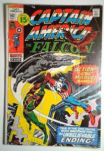 Captain America #142 (1971) Marvel 2.5 GD+ Comic Book