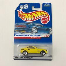 Hot Wheels #646 Mercedes SLK 1998 First Editions
