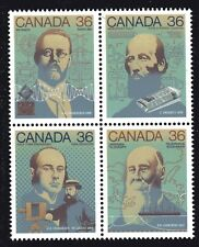 1987 Canada SC# 1138a Sciences & Technology-2 Block of 4 Stamps Lot# A33 M-NH