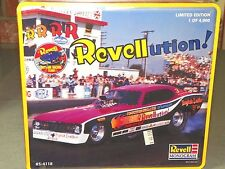 Revell 1/25 REVELLUTION! FUNNY CAR IN TIN Plastic Model Kit #85-4118 NIB