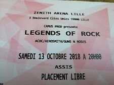 Places concert legends of rock Lille