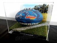 ✺Signed✺ TAYLOR WALKER Crows Football PROOF COA Adelaide 2020 Jumper AFL