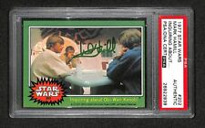 MARK HAMILL LUKE SKYWALKER 1977 TOPPS STAR WARS SIGNED AUTOGRAPHED CARD PSA/DNA