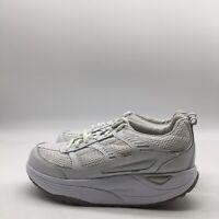 Danskin Now Women's I-Net Technology White Shoes Shape Up Style Toning Size 7
