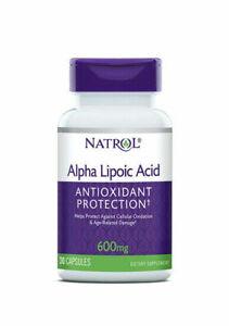 Natrol Alpha Lipoic Acid 600mg 30 Caps