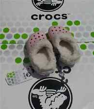 CROCS MAMMOTH BLITZEN POLAR KIDS BAYA CLOG SHOES~Pink White~Junior 1 W 3~NWT