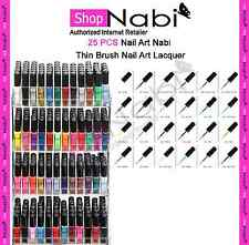 24pcs Nail Art Nabi Thin Brush Nail Art Lacquer
